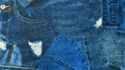French Terry Digital jeans pockets 4212