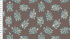 French Terry Ethno Turtles 4521