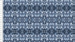 French Terry Ethno Ikat 4524